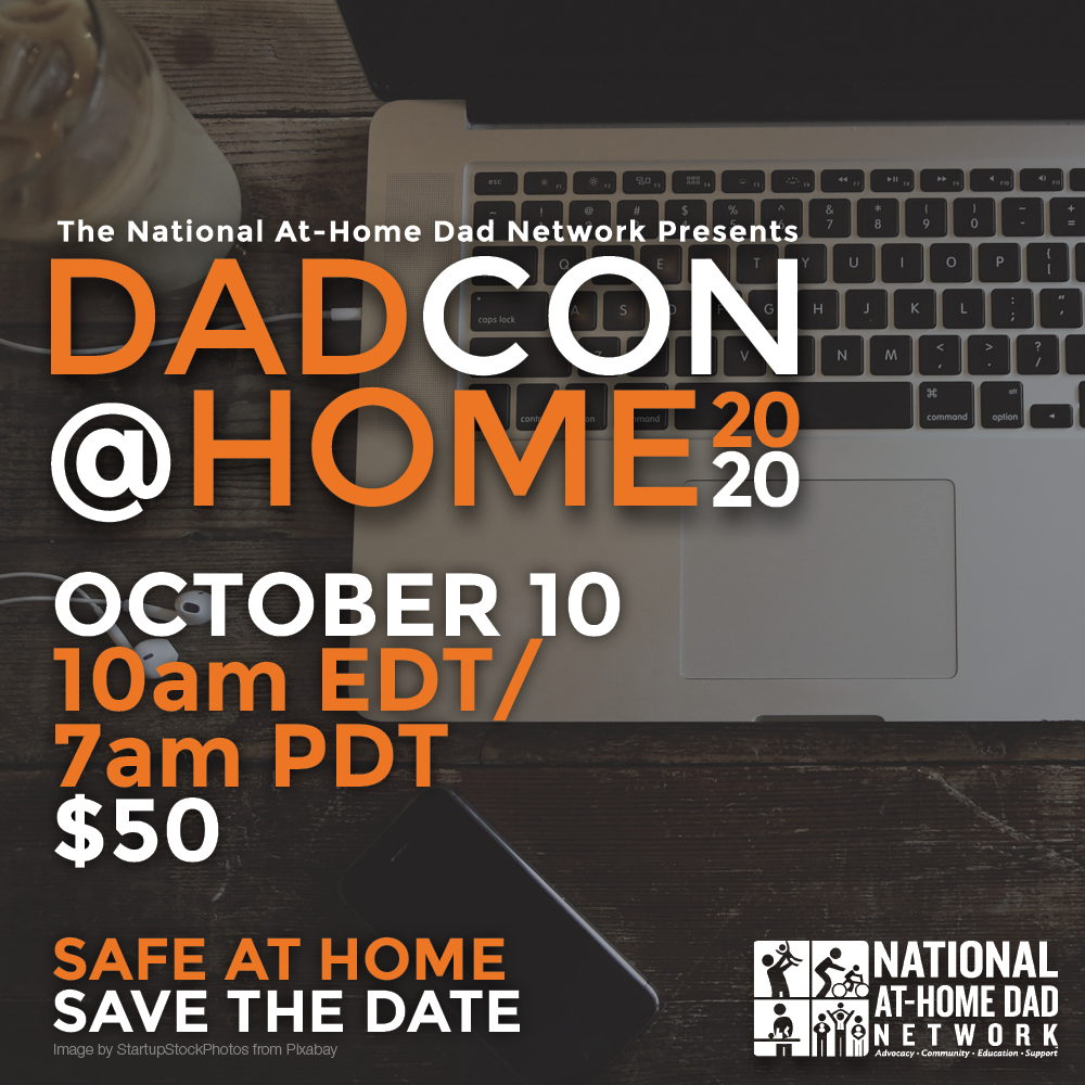 Introducing...DadCon@Home 2020!